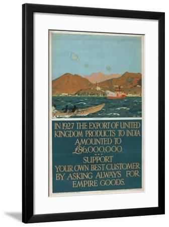 Aden, from the Series 'The Empire's Highway to India'-Charles Pears-Framed Giclee Print