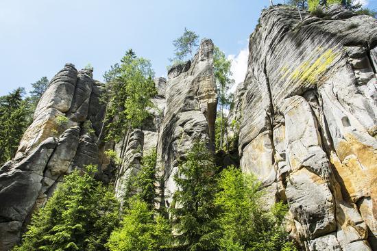 'Adersbach', Adršpach-Teplice Rocks, rock town-Klaus-Gerhard Dumrath-Photographic Print