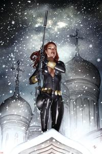 Black Widow: Deadly Origins No.2 Cover: Black Widow by Adi Granov