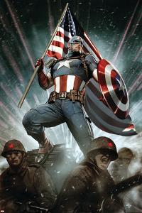 Captain America: Living Legend #1 Cover: Captain America by Adi Granov