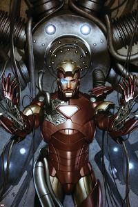 Iron Man: Director Of S.H.I.E.L.D. No.31 Cover: Iron Man by Adi Granov