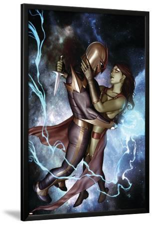 Nova No.10 Cover: Nova and Gamora