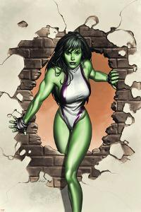 She-Hulk No.1 Cover: She-Hulk by Adi Granov