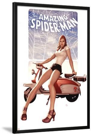 The Amazing Spider-Man No.602 Cover: Mary Jane Watson