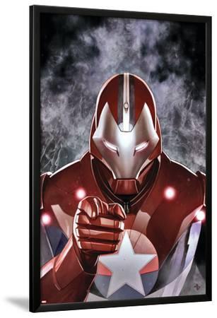 Ultimate Comics Ultimates #19 Cover: Iron Patriot