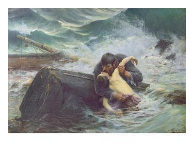 Adieu, 1892-Alfred Guillou-Giclee Print