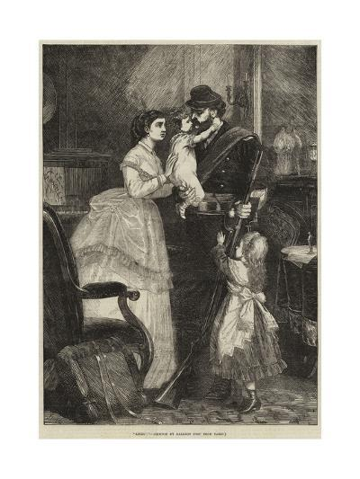 Adieu!-J.M.L. Ralston-Giclee Print