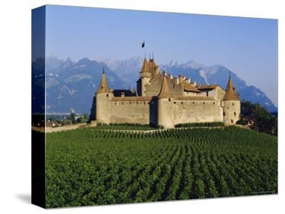 Aigle Chateau and Vineyard, Near Lac Leman, Switzerland