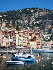 Colourful Buildings, Villefranche, Alpes-Maritimes, Provence-Alpes-Cote D'Azur, French Riviera by Adina Tovy
