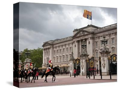 Household Cavalry at 2012 Trooping Colour Ceremony at Buckingham Palace, London, England