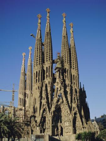 La Sagrada Familia, Gaudi Cathedral, Barcelona, Catalonia (Cataluna) (Catalunya), Spain, Europe by Adina Tovy