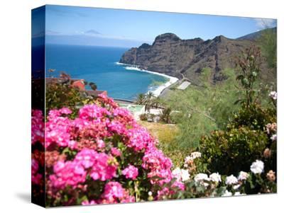 Mountain Landscape, La Gomera, Canary Islands, Spain. Atlantic, Europe