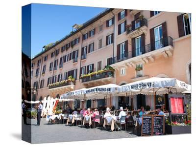 Outdoor Restaurant, Piazza Navona, Rome, Lazio, Italy, Europe