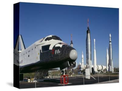 Retired Shuttle and Rockets, Kennedy Space Center, Florida, USA