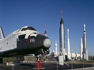 Retired Shuttle and Rockets, Kennedy Space Center, Florida, USA by Adina Tovy