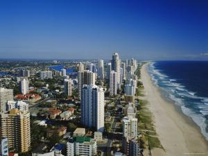 Surfers Paradise, the Gold Coast, Queensland, Australia by Adina Tovy
