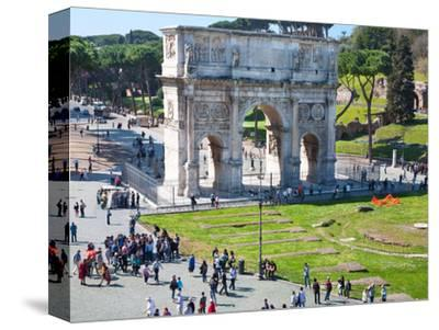 The Arch of Constantine, Rome, Lazio, Italy, Europe
