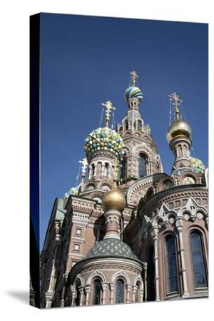 The Church of Spilled Blood, UNESCO World Heritage Site, St. Petersburg, Russia
