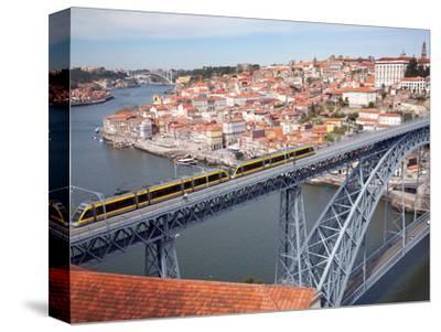 The Dom Luis 1 Bridge over River Douro, Porto (Oporto), Portugal