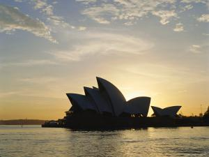 The Sydney Opera House in the Evening, Sydney, New South Wales, Australia by Adina Tovy