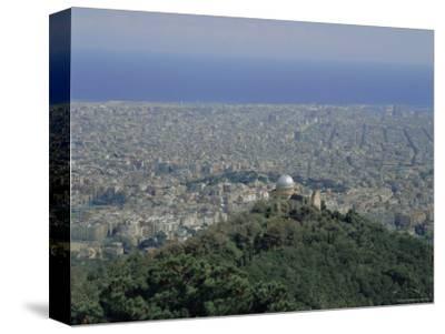 View Over the City, Barcelona, Catalonia (Cataluna) (Catalunya), Spain, Europe