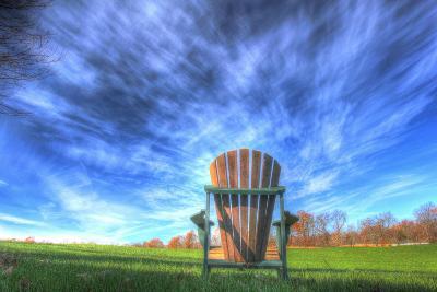 Adirondack Chair Horizontal-Robert Goldwitz-Photographic Print
