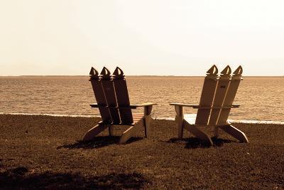 Adirondack Chairs I-Alan Hausenflock-Photographic Print