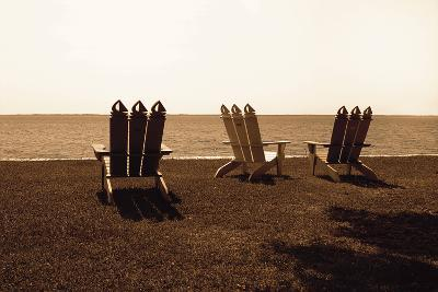 Adirondack Chairs II-Alan Hausenflock-Photographic Print