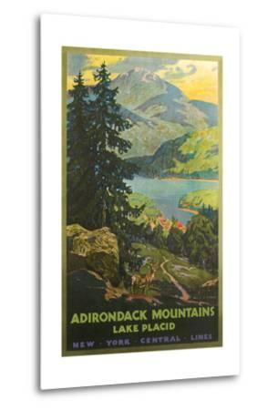 Adirondacks Travel Poster
