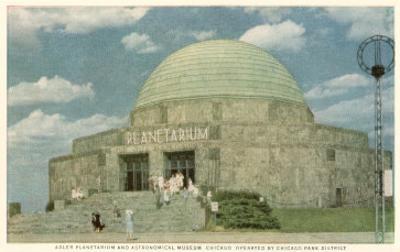 Adler Planetarium, Chicago, Illinois