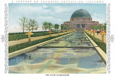 Adler Planetarium, Chicago World Fair--Art Print
