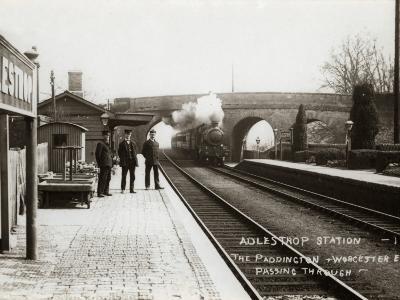 Adlestrop Railway Station, Gloucestershire-Peter Higginbotham-Photographic Print