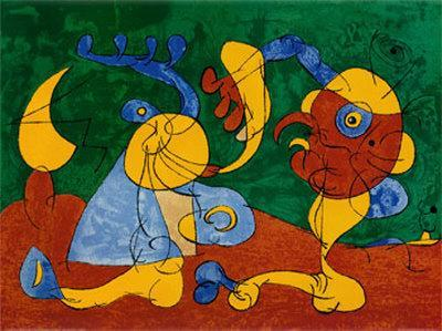 Adlige In Der Fallgrube-Joan Mir?-Art Print