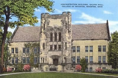 Administration Building, College of Wooster--Art Print