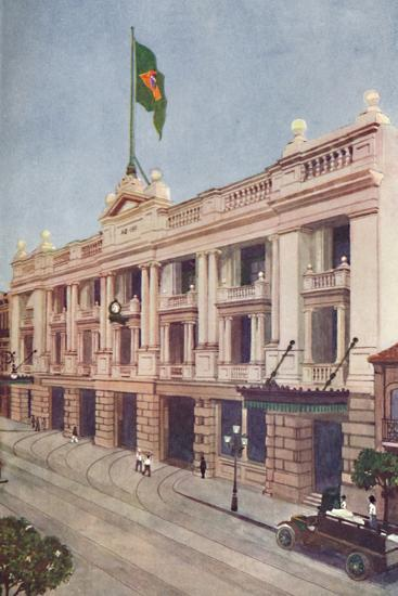 'Administration Offices of the Rio Tramway, Light and Power Company', 1914-Unknown-Photographic Print