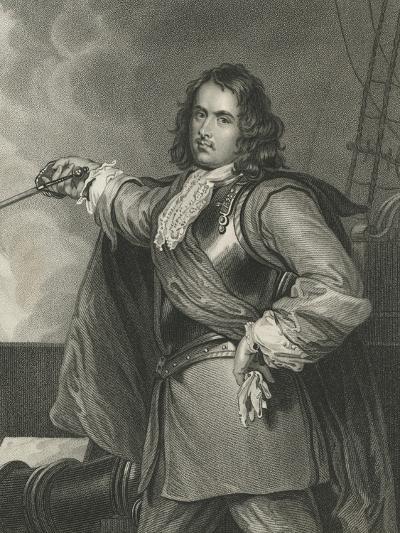 Admiral Blake-Henry Perronet Briggs-Giclee Print