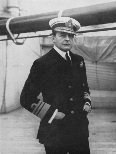 Admiral David Beatty (1871-193), British Naval Commander, World War I, 1914-1918--Giclee Print