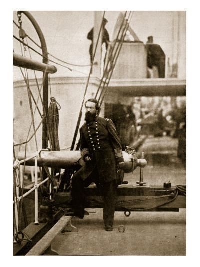 Admiral David D. Porter, 1861-65-Mathew Brady-Giclee Print