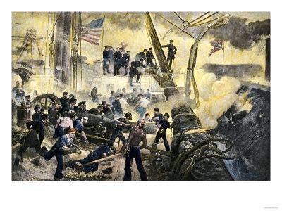 Assault on Fort Sanders Civil War Battle Custom Framed Art Print 18x24
