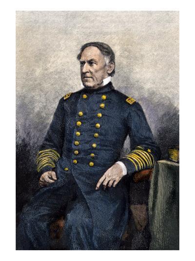 Admiral David Glasgow Farragut--Giclee Print