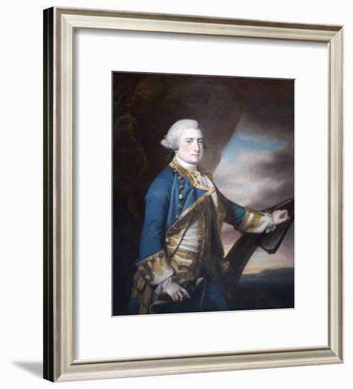 Admiral Harry Paulet-Francis Cotes-Framed Art Print