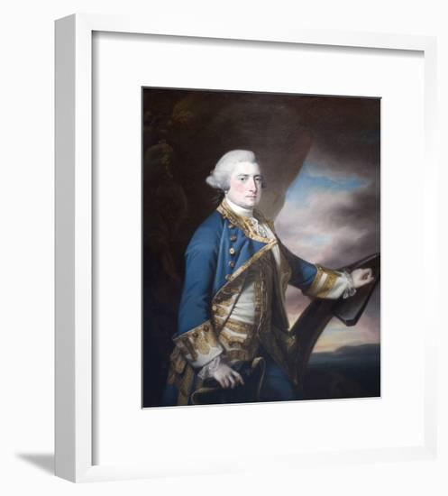 Admiral Harry Paulet-Francis Cotes-Framed Art Print