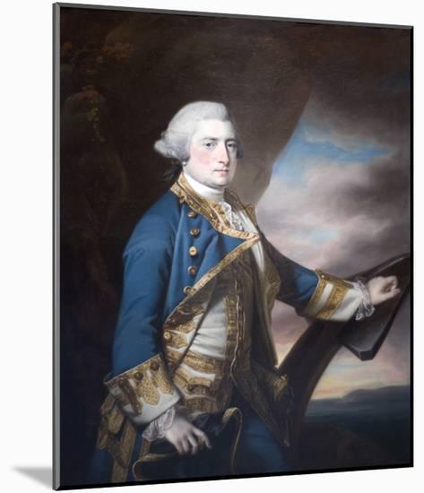 Admiral Harry Paulet-Francis Cotes-Mounted Art Print