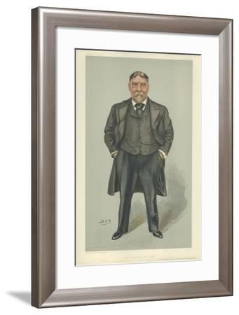 Admiral Sir Archibald Lucius Douglas-Sir Leslie Ward-Framed Giclee Print