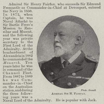Admiral Sir H Fairfax--Giclee Print