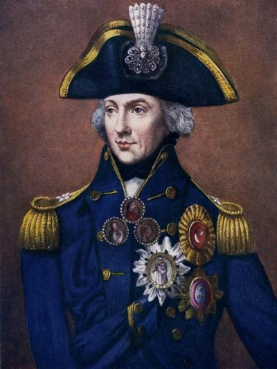 Admiral Sir Horatio Nelson, 1798-1799-Henry Bone-Giclee Print