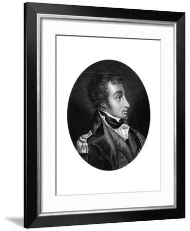 Admiral Sir William Sydney Smith (1764-184), Naval Commander, 1837--Framed Giclee Print