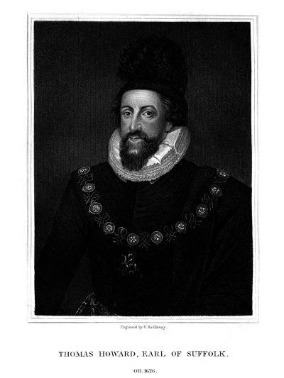 Admiral Thomas Howard, 1st Earl of Suffolk-G Kellaway-Giclee Print