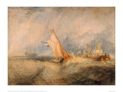 Admiral Van Tromp Cruising Into the Wind, 1844-J^ M^ W^ Turner-Giclee Print