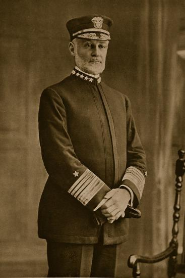 Admiral William Sowden Sims, 1914-19--Photographic Print